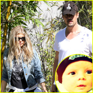 Fergie Shares Cute Photo of Baby Axl!