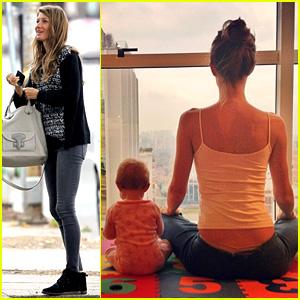 Gisele Bundchen Shares Breastfeeding Pic Before Oral B ...