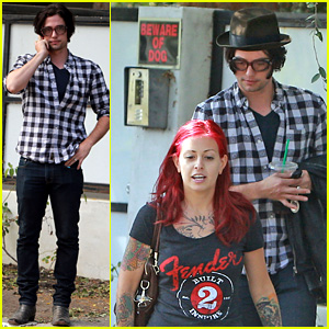 Jackson Rathbone & Sheila Hafsadi Step Out After Wedding