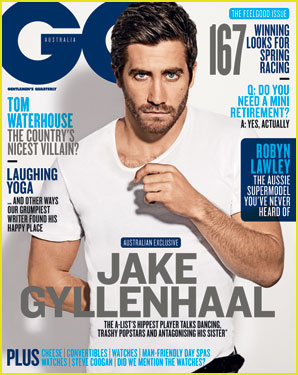 Jake Gyllenhaal Covers 'GQ Australia' November 2013