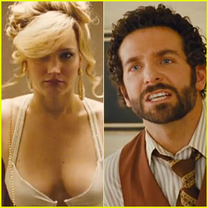 Jennifer Lawrence & Bradley Cooper: New 'American Hustle' Trailer!