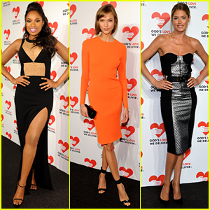 Jennifer Hudson & Karlie Kloss Support God's Love We Deliver