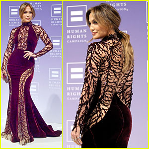Jennifer Lopez: Ally for Equality Award at HRC National Dinner!