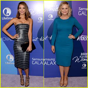 Jessica Alba & Amy Poehler: Variety Power of Women 2013!