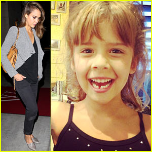 Jessica Alba's Daughter Honor Loses First Tooth - See the Pic!