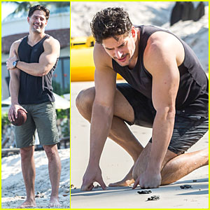 Joe Manganiello: Puerto Vallerta Vacation with Bridget Peters!