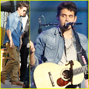 John Mayer Visits 'Jimmy Kimmel Live!' for 'Paradise Valley'