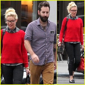 Katherine Heigl & Josh Kelley: TriBeCa Stroll with Mom Nancy!