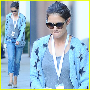 Katie Holmes: 'Really Excited' to Shoot 'The Giver'