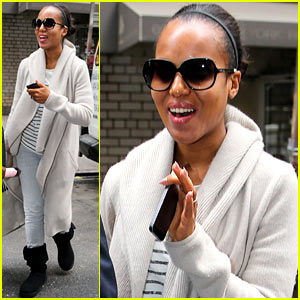Kerry Washington Emerges Amidst Pregnancy Rumors