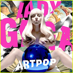 Lady Gaga Goes Nude for Official 'ARTPOP' Album Cover!