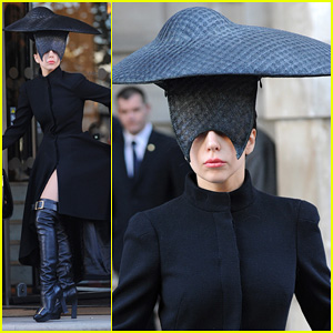Lady Gaga Steps Out In London After Puppy Alice Dies