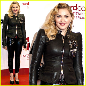 Madonna: Hard Candy Fitness Club Opening in Berlin!