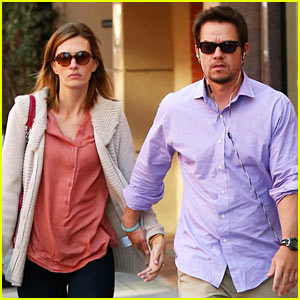 Mark Wahlberg Holds Hands with Rhea Durham in Beverly Hills