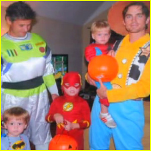 Matt Bomer Shares Adorable Family Photo from Halloween!