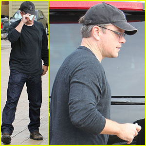 Matt Damon: Luciana & I Make Time for Date Nights