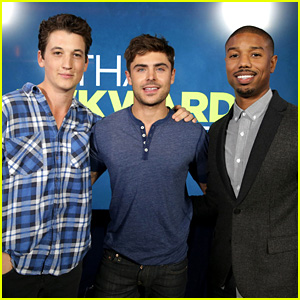 Michael B. Jordan & Miles Teller: 'That Awkward Moment' Q&A!