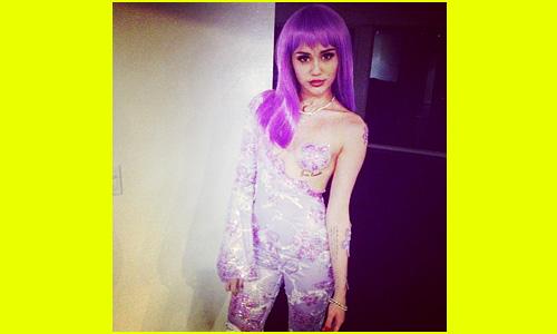 Miley Cyrus Halloween 2013