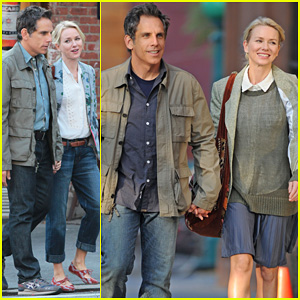 Naomi Watts & Ben Stiller: Lovers on 'While We're Young' Set!