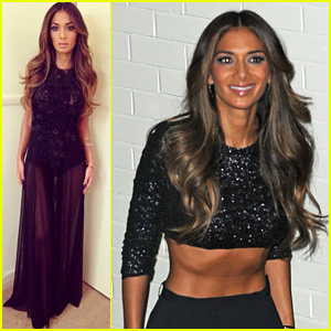 Nicole Scherzinger Bares Flat Tummy After 'X Factor' Taping