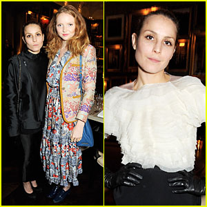 Noomi Rapace: London Edition & Nowness Dinner with Lily Cole!