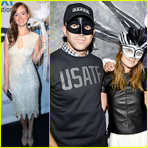 Olivia Wilde & Ahna O'Reilly: UNICEF's Masquerade Ball 2013