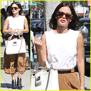 Rachel Bilson: Urth Caffe Lunch with a Gal Pal!