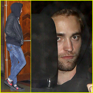 Robert Pattinson: Arctic Monkeys Concert with Florence Welch!
