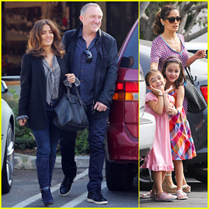Salma Hayek: Fun Filled Weekend with the Family!