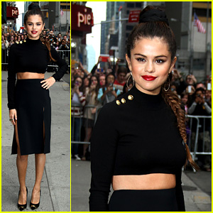Selena Gomez Performs 'Slow Down' for David Letterman