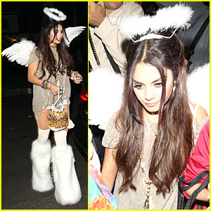 Vanessa Hudgens: Angel at Casamigos Halloween Party 2013!