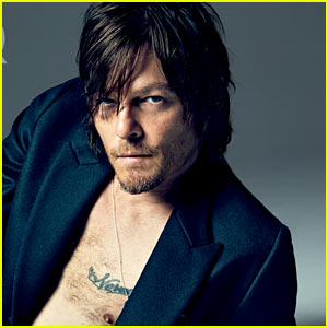 The Walking Dead's Norman Reedus: 'GQ' October Outtake!