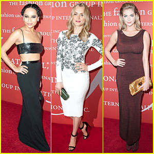 Zoe Kravitz & Kate Upton: Night of Stars Gala 2013