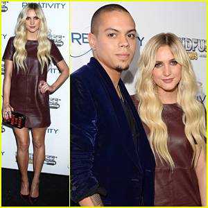 Ashlee Simpson & Evan Ross: Rock Legends Launch Party!