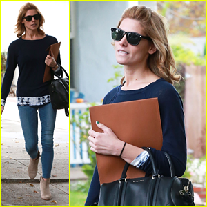 Ashley Greene: Sweater Wearing Sweetheart