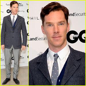 Benedict Cumberbatch: GQ's 25th Anniversary Exhibition!