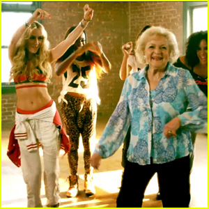 Betty White Gets Her Groove on in Brit Smith's 'Provocative' Vid!
