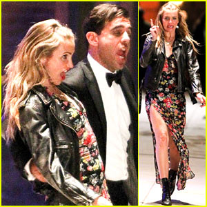 Cameron Diaz & Bobby Cannavale Sing & Dance for 'Annie'!