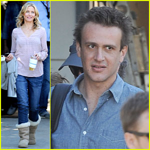 Cameron Diaz & Jason Segel Continue Shooting 'Sex Tape'!