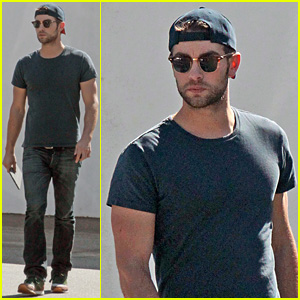 Chace Crawford Has Low Key Halloween Afternoon
