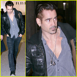 Colin Farrell Getting His Kids Reacquainted with Disney Films!