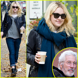 Dakota Fanning & Richard Gere: 'Franny' Filming in Philly