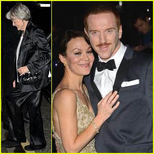 Damian Lewis & Maggie Smith: Evening Standard Theatre Awards 2013