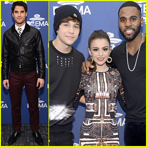 Darren Criss & Cher Lloyd: MTV EMA 2013 US Meet & Greet!