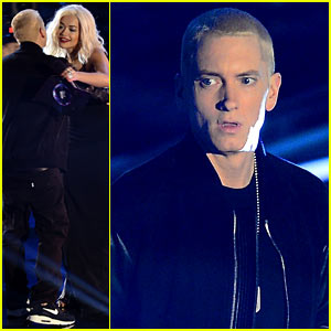 Eminem: 'Rap God' & 'Berzerk' at MTV EMA 2013 (Video)