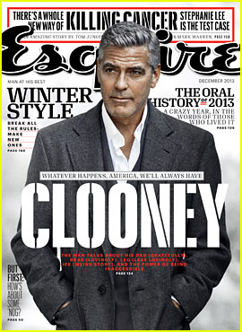 George Clooney Talks Fame, Twitter, & Brad Pitt with 'Esquire'!