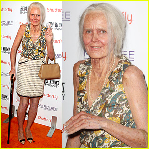 Heidi Klum: Old Grandma for Halloween Costume 2013!