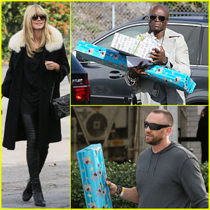 Heidi Klum & Martin Kirsten: Johan's Birthday Party with Seal!
