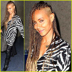 Jada Pinkett Smith: Braided Hair Beauty at LAX!