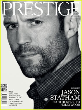 Jason Statham Covers 'Prestige Hong Kong' November 2013
